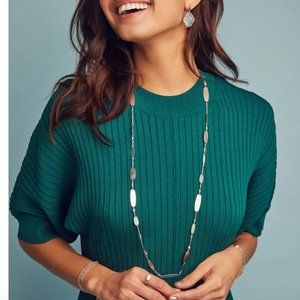 NWT Kendra Scott Long Strand Necklace | Rose Gold